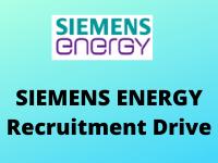 siemens energy Recruitment Drive