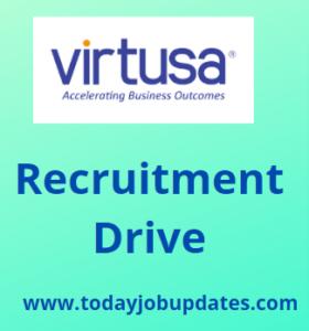 Virtusa Hiring Associate Engineer