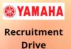 Yamaha hiring Freshers