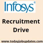 Infosys Recruitment Drive