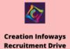 creation Infoways Recruitment Drive