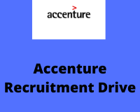 accenture recruitment drive