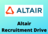 altair recruitment drive