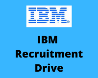 IBM Recruitment Drive