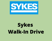 SYKES Recruitment Drive