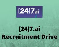 [24]7.ai Recruitment Drive