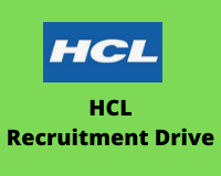 HCL Recruitment Drive