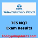 TCS NQT Exam Results 2020