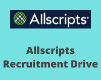 allscripts Recruitment Drive