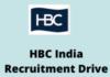 hbc India Recruitment Drive