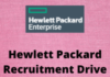 hewlett packard recruitment drive