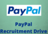 paypal Recruitment Drive