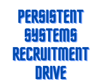 persistent system Recruitment Drive