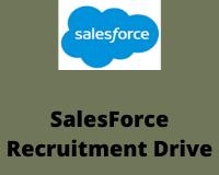 salesforce Recruitment Drive