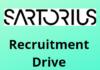 Satorius hiring fresher