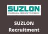 suzlon Recruitment Drive