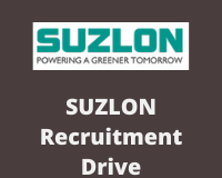 suzlon Recruitment Drive