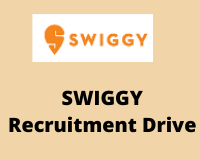 swiggy Recruitment Drive