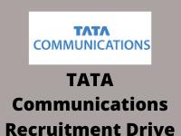 tata Communication recruitment drive