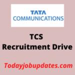 tcs Recruitment Drive
