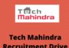 techmahindra Recruitment Drive
