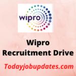wipro Recruitment Drive