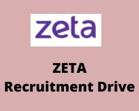 zeta Recruitment Drive