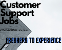 Customer Support Executive Jobs