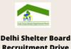 Delhi Shelter Board Recruitment Drive