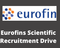 Eurofins Scientific Recruitment Drive
