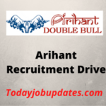 arihant Recruitment Drive