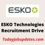 esko Recruitment Drive