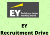 ey Recruitment Drive