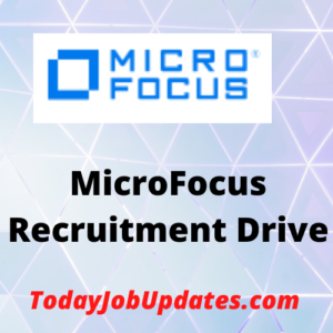 microfocus Recruitment Drive