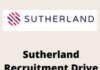 sutherland Recruitment Drive