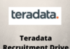 teradata Recruitment drive