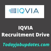 iqvia Recruitment Drive
