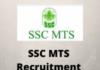 ssc mts Recruitment Drive