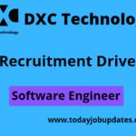 DXC hiring Freshers