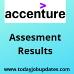 Accenture Assessment Result