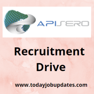 Apisero hiring Fresher