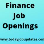 Finance Job Openings
