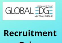 GlobalEdge hiring Engineers