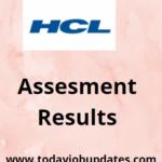 HCL Assessment Result