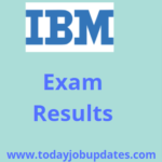 IBM Assesment Result