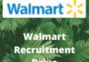 Walmart Recruitment Drive