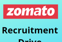 Zomato hiring Fresher