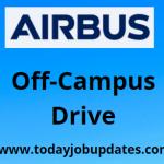 Airbus off-campus drive