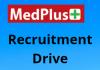 Medplus hiring Fresher