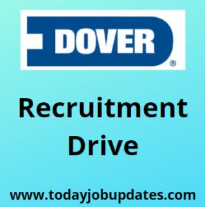 Dover hiring Software Enginer